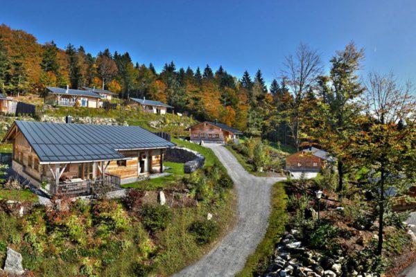 huettenhof bergchalets bayerischer wald wellness luxusurlaub 1200